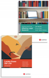 Nemes & Coss' Effective Legal Research, 8th edition and Laying Down the Law, 11th edition (Bundle) cover