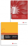 Australian Corporate Law, 7th edition and Australian Corporations Legislation 2021 - Student edition (2 Volume Set) (Bundle) cover