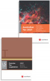 Australian Tax 2021 and  Concise Tax Legislation 2021 (Bundle) cover