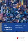 Civil Procedure in Australia cover