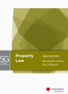 LexisNexis Study Guide: Property Law, 2nd edition cover