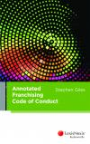 Annotated Franchising Code of Conduct cover