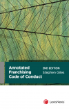 Annotated Franchising Code of Conduct, 2nd edition cover