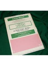 Matter File Labels - 3 per Sheet (Pink) - Extended cover