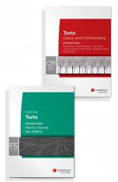 Torts: Cases and Commentary, 8th edition and Focus: Torts, 8th edition (Bundle) cover