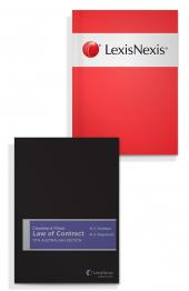 Cheshire & Fifoot Law of Contract, 11th Australian edition and Australian Cases on Contract 2009 Edition (Bundle) cover