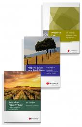 LexisNexis Study Guide: Property Law, 2nd edition (eBook), Property Law in New South Wales, 4th edition (eBook) and Australian Property Law Cases, Materials and Analysis, 4th edition (eBook) (Bundle) cover