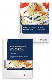 Principles of Australian Equity and Trusts: Cases and Materials, 4th edition and Principles of Australian Equity and Trusts, 4th edition (Bundle) cover
