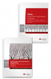 Torts: Cases and Commentary, 8th edition and Torts Cases and Commentary Supplement: Defamation and Wrongful Interference with Goods, 2nd edition (Bundle) cover