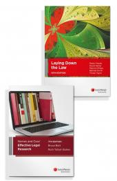 Laying Down the Law, 10th Edition and Nemes & Coss' Effective Legal Research, 7th edition (Bundle) cover