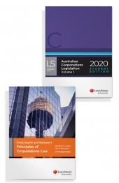 Ford, Austin and Ramsay's Principles of Corporations Law, 17th edition and Australian Corporations Legislation 2020 - Student Edition (Bundle) cover