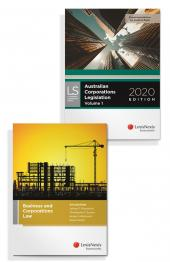 Business and Corporations Law, 4th edition and Australian Corporations Legislation 2020 (Bundle) cover