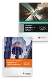 Ford, Austin and Ramsay's Principles of Corporations Law, 17th edition and Australian Corporations Legislation 2020 (Bundle) cover