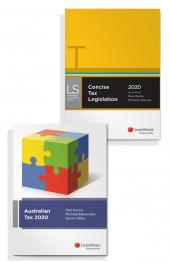 Australian Tax 2020 and Concise Tax Legislation 2020 (Bundle) cover