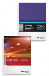 Company Law: Theories, Principles and Applications, 2nd edition and Australian Corporations Legislation 2020 - Student Edition (Bundle) cover