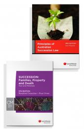 Principles of Australian Succession Law, 3rd edition and Succession: Families, Property and Death, 5th edition (Bundle) cover