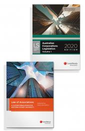 Law of Associations: A Custom Publication for Western Sydney University and Australian Corporations Legislation 2020 (Bundle) cover