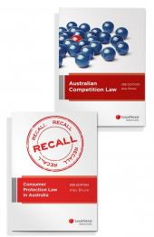 Australian Competition Law, 3rd edition and Consumer Protection Law in Australia, 3rd edition (Bundle) cover