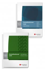 LexisNexis Questions and Answers - Constitutional Law, 4th edition and LexisNexis Study Guide: Constitutional Law, 3rd edition (Bundle) cover