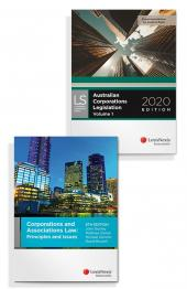 Corporations and Associations Law: Principles and Issues, 6th edition and Australian Corporations Legislation 2020 (Bundle) cover