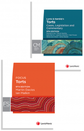 Luntz & Hambly's Torts: Cases, Legislation and Commentary, 9th edition and Focus Torts, 9th edition (Bundle) cover