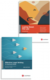 Laying Down the Law, 11th edition and Effective Legal Writing: A Practical Guide, 3rd edition (Bundle) cover