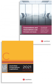 Corporations and Associations Law Principles and Issues, 7th edition and Australian Corporations Legislation 2021 - Student edition (2 Volume Set) (Bundle) cover