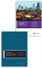 Sackville & Neave Australian Property Law, 11th edition and  Australian Personal Property Securities Law, 2nd edition (Bundle) cover
