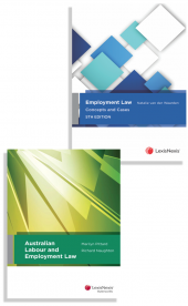 Employment Law: Concepts and Cases, 5th edition and Australian Labour and Employment Law (Bundle) cover