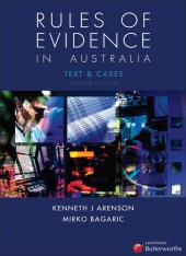 Rules of Evidence in Australia cover