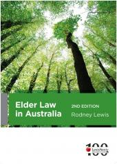 Elder Law in Australia, 2nd Edition cover