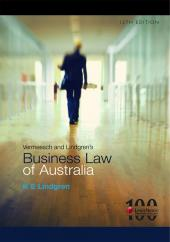 Vermeesch and Lindgren's Business Law of Australia, 12th Edition (eBook) cover