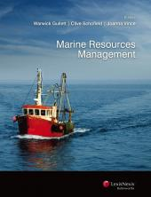 Marine Resources Management (eBook) cover