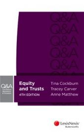 LexisNexis Questions and Answers: Equity and Trusts, 4th Edition cover