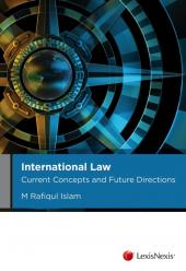 International Law: Current Concepts and Future Directions cover