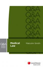 LexisNexis Questions and Answers: Medical Law cover
