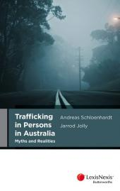 Trafficking in Persons in Australia cover