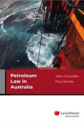 Petroleum Law in Australia (eBook) cover