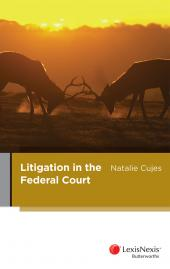 Litigation in the Federal Court cover