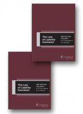 The Law of Liability Insurance, 3rd Edition - Volumes 1 and 2 (eBook) cover
