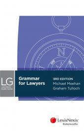 Grammar for Lawyers, 3rd Edition cover