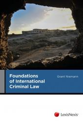 Foundations of International Criminal Law cover