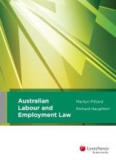 Australian Labour and Employment Law cover