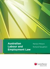 Australian Labour and Employment Law (eBook) cover