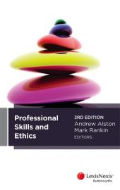 Professional Skills & Ethics, 3rd edition cover