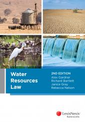 Water Resources Law, 2nd edition  cover