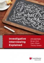 Investigative Interviewing Explained, 4th edition (eBook) cover