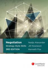 Negotiation Strategy Style Skills, 3rd edition (eBook) cover