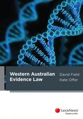 Western Australian Evidence Law cover