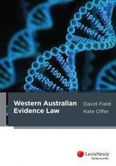 Western Australian Evidence Law cover